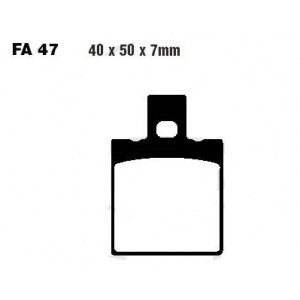 Plaquettes de frein ARRIERE 40x50x7mm EBC - FA047HH - DUCATI MONSTER/748/851/888/916/996/...